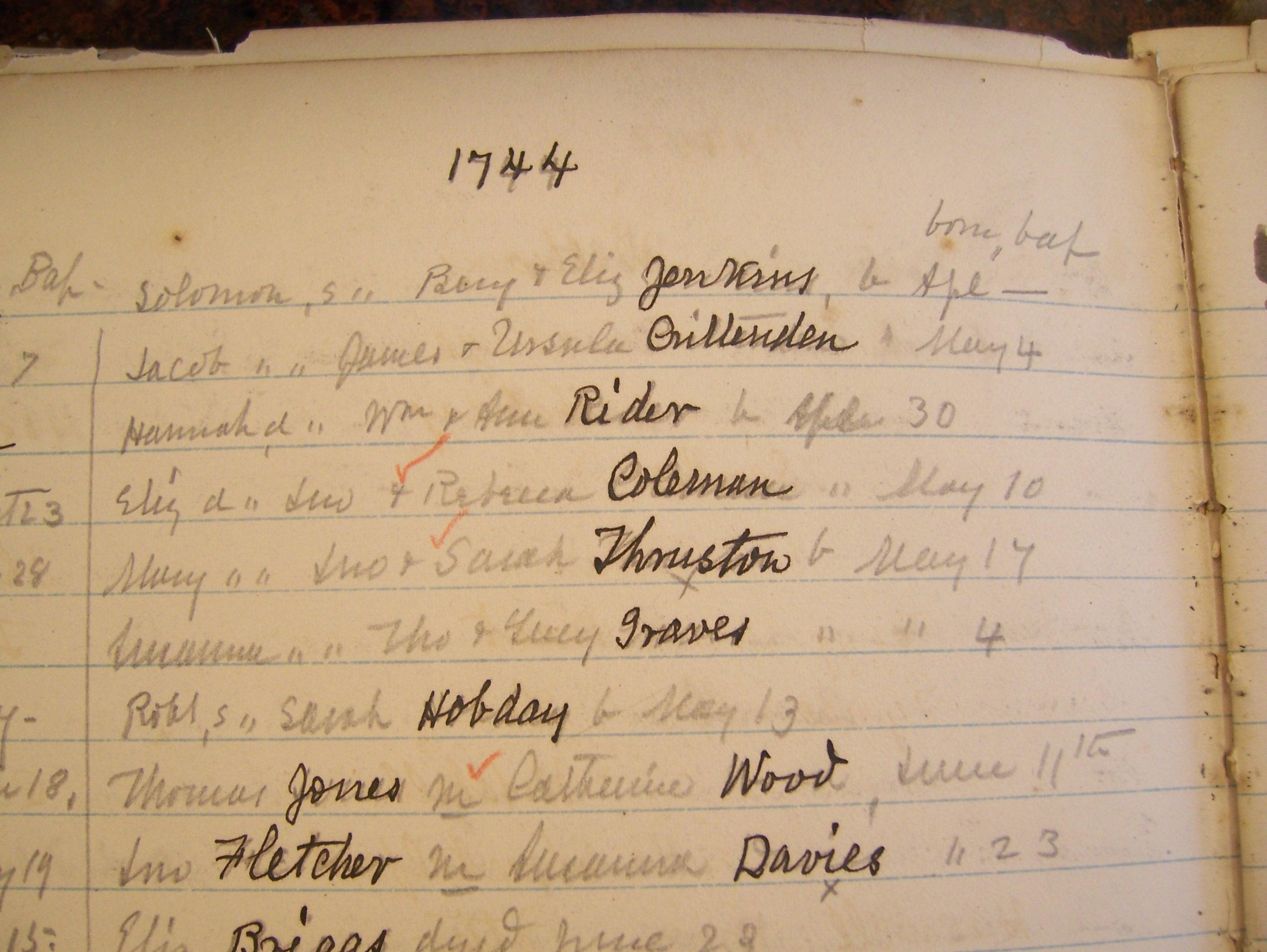 Hobdayhobdy Family History Genealogy The Heritage Lady