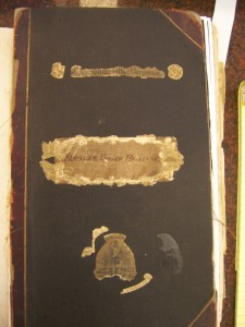 Cover of Abingdon Parish Register 1677-1762