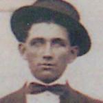 Ora Ezraj Hatfield ca 1914