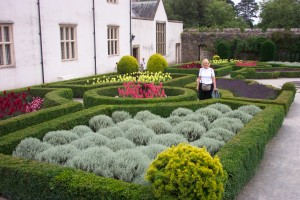 Elaine at Museum of Welsh Life Gardens