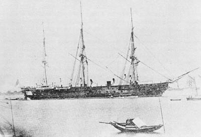 U. S. Colorado, Ship that William Thomas Whitelaw and family sailed on from England to America, 1872