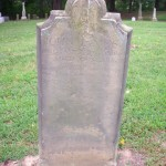 Tombstone of John James 1688-1725