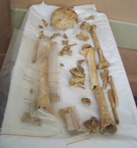 Bones of Joseph Bridger