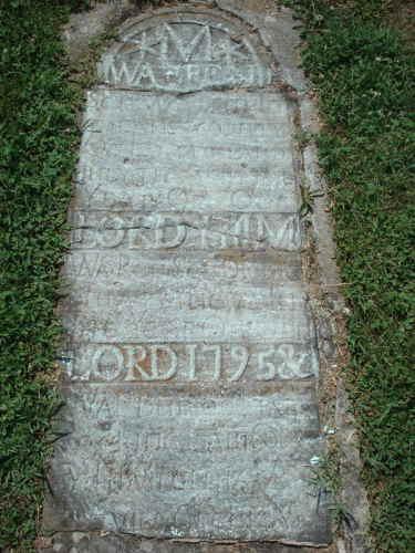 Michael Waren 1711 1795 tombstone