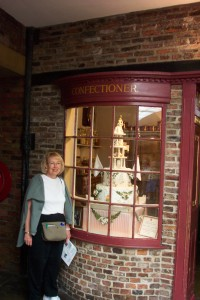 Replica of Confectioner Shop like GGGGrandfather owned