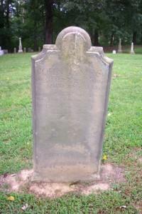 Tombstone of John James 1688-1725